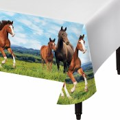 Horses Tablecover