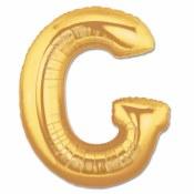 Letter G Gold 40in Foil