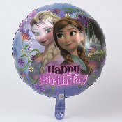 Frozen Birthday Foil Balloon