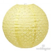 Lantern Large Eyelet Yellow