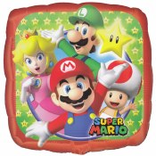 Mario Brothers 18in Foil