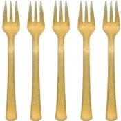 Mini Forks Gold