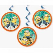 Despicable Me Swirl Decor