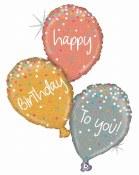 Birthday Balloon Cluster