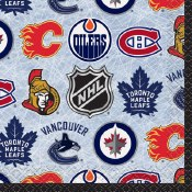 Nhl Beverage Napkins