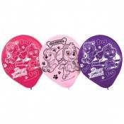Paw Patrol Girl Latex Balloons