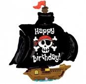 Pirate Ship Supershape Foil