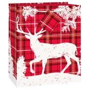 Christmas Plaid Gift Bag