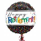 Retirement Black 18in Foil