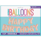 Birthday Balloon Banner Kit