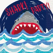 Shark Beverage Napkins