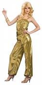 Solid Gold Diva Costume
