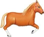 Tan Horse Supershape Foil