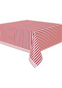 Stripe Tablecover Red
