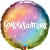 Congrats Ombre 18 In Foil