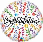 Congrats Streamer 18 In Foil