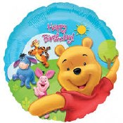 Winnie Birthday Foil Balloon