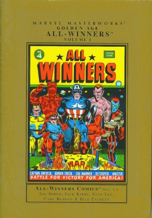 Mmw Golden Age All Winners HC VOL 01 New Ed
