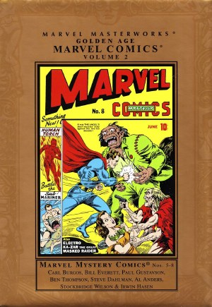Mmw Golden Age Marvel Comics HC VOL 02 New Ed