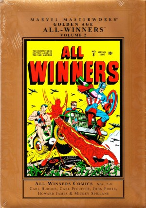 Mmw Golden Age All Winners HC VOL 02 New Ed