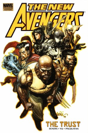 Avengers New Prem HC VOL 07 Trust ***USED COPY***