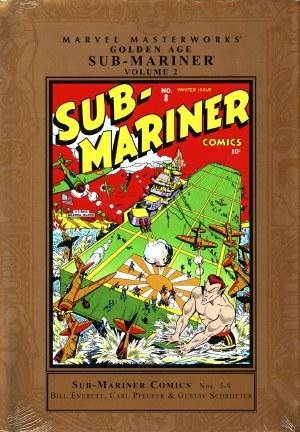 Mmw Golden Age Sub Mariner HC VOL 02