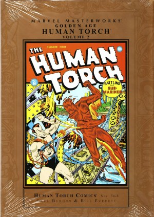 Mmw Golden Age Human Torch HC VOL 02