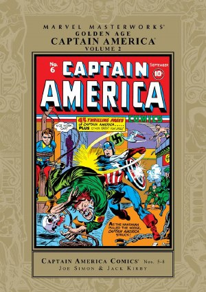 Mmw Golden Age Captain America HC VOL 02