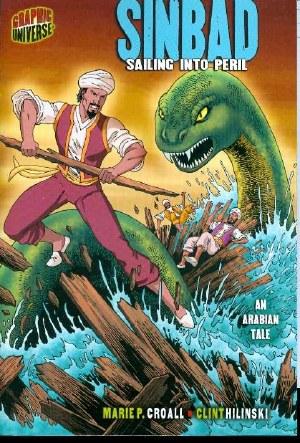 Graphic Universe Sinbad Sailing Into Peril SC