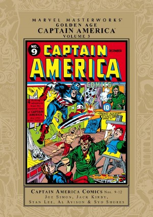 Mmw Golden Age Captain America HC