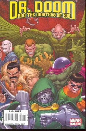 Dr Doom Masters of Evil #1