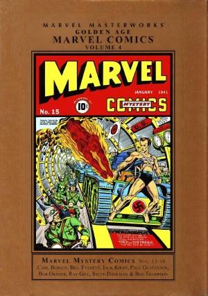 Mmw Golden Age Marvel Comics HC