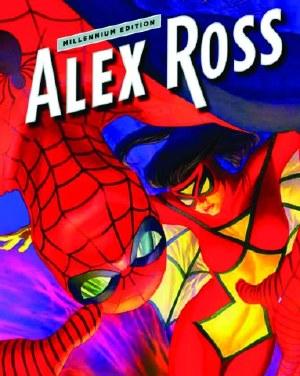 Wiz Alex Ross Updated Millennium HC Spider-Man Spiderwoman C