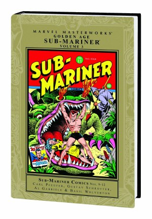 Mmw Golden Age Sub Mariner HC VOL 03