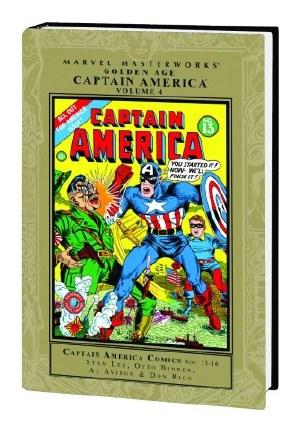 Mmw Golden Age Captain America HC VOL 04