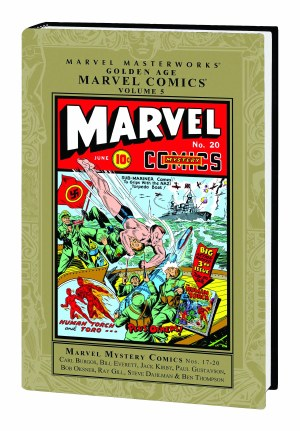 Mmw Golden Age Marvel Comics HC VOL 05