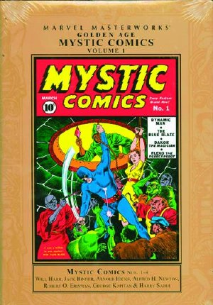 Mmw Golden Age Mystic Comics HC VOL 01