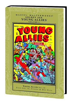Mmw Golden Age Young Allies HC VOL 02