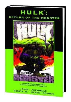 Hulk Return of Monster Prem HC Dm Var Ed 90