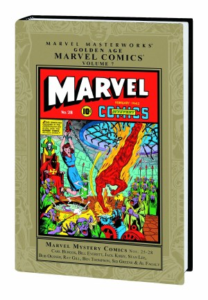 Mmw Golden Age Marvel Comics HC VOL 07