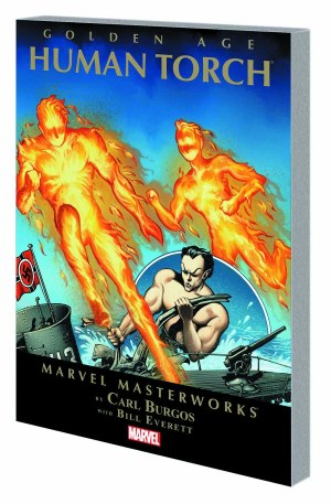 Mmw Golden Age Human Torch TP VOL 01