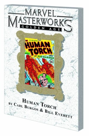 Mmw Golden Age Human Torch TP VOL 01 Dm Var Ed 51 (Jan130777