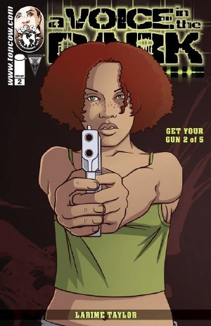 Voice In the Dark Barrel of a Gun #2 (of 5) Cvr A Taylor (