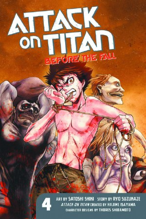 Attack On Titan Before the Fall GN VOL 04 (Jan151496) (C: 1-