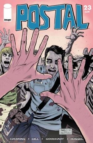Postal #23 Cvr B Walking Dead #51 Tribute Var (Mr)