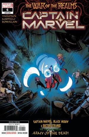 Captain Marvel #6 2nd Ptg Martello Var
