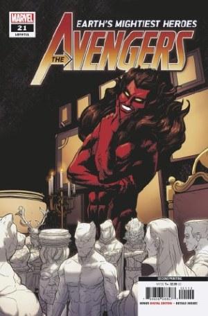Avengers #21 2nd Ptg Var