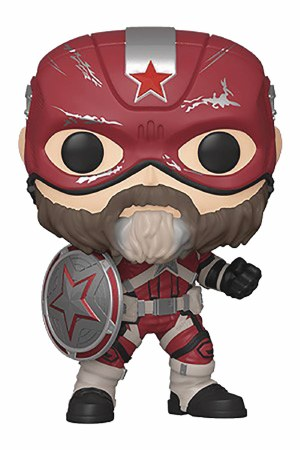 Pop Marvel Black Widow Red Guardian Vinyl Figure (C: 1-1-2)