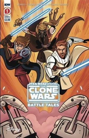 Star Wars Adventures Clone Wars #1 (of 5) 2nd Ptg