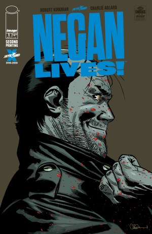 Negan Lives #1 2nd Ptg (Mr)
